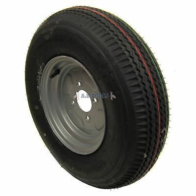 AB Tools Trailer Wheel /& Tyre 3.50-8 with 115mm PCD for Erde Daxara 4 PLY TRSP12