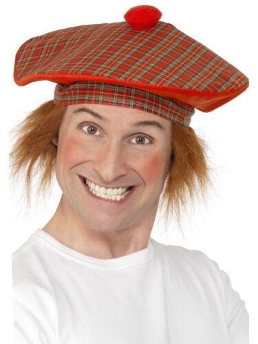Tam-O-Shanter Adult Mens Smiffys Fancy Dress Costume Hat