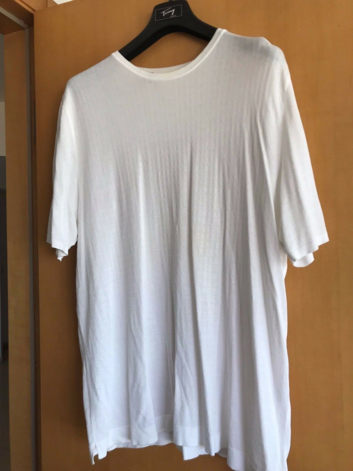 BILANCIONI Weiß short men sweater, Italian designer's sweater
