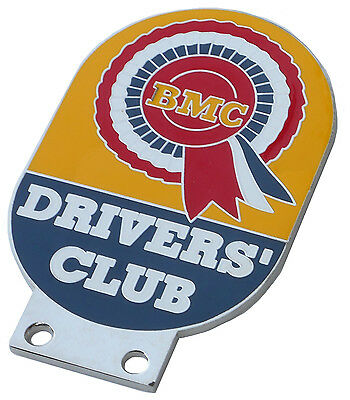 VINTAGE BMC DRIVERS CLUB BADGE MINI MINOR COOPER BEAN CLUBMAN PARTS FOR SALE