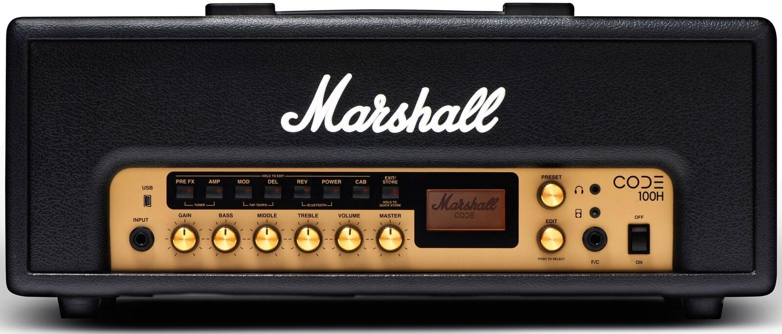 Marshall CODE100H Head Guitar Amp