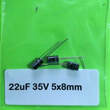 2//5//10//25//50//100 PC 10uF 35V 105C Radial Electrolytic Capacitor 5x11mm USA