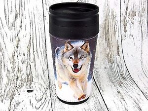 Thermobecher-Becher-Tasse-Thermoskanne-Flasche-Running-Wolf-Spirit-Tier-Trucker