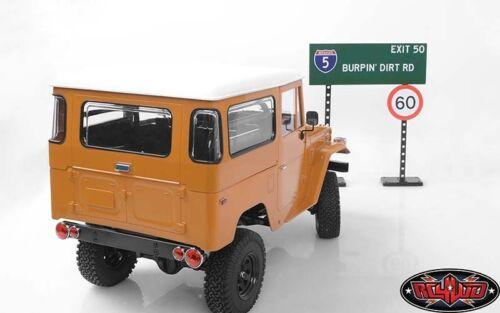 RC4WD échelle Signes Set Inc Stands /& Poles 10th US /& EU Road Sign Gates Z-X0035 RC