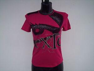 con borchie Exte T 44 shirt taglia Woman Red FXIqXPHwxf