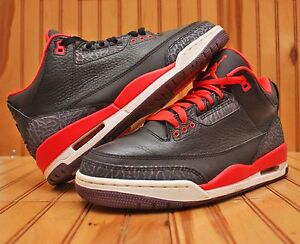 buy popular 1f23f 1032d Image is loading 2013-Nike-Air-Jordan-3-III-Retro-Size-