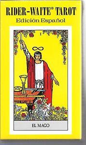 SPANISH-RIDER-WAITE-ESPANOL-TAROT-Fortune-Telling-Divination-78-Card-Sealed-NIB