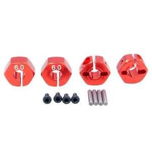 Screws For HSP HPI Tamiya Car 1//10 RC 12mm Aluminum Wheel Hex Drive Pins