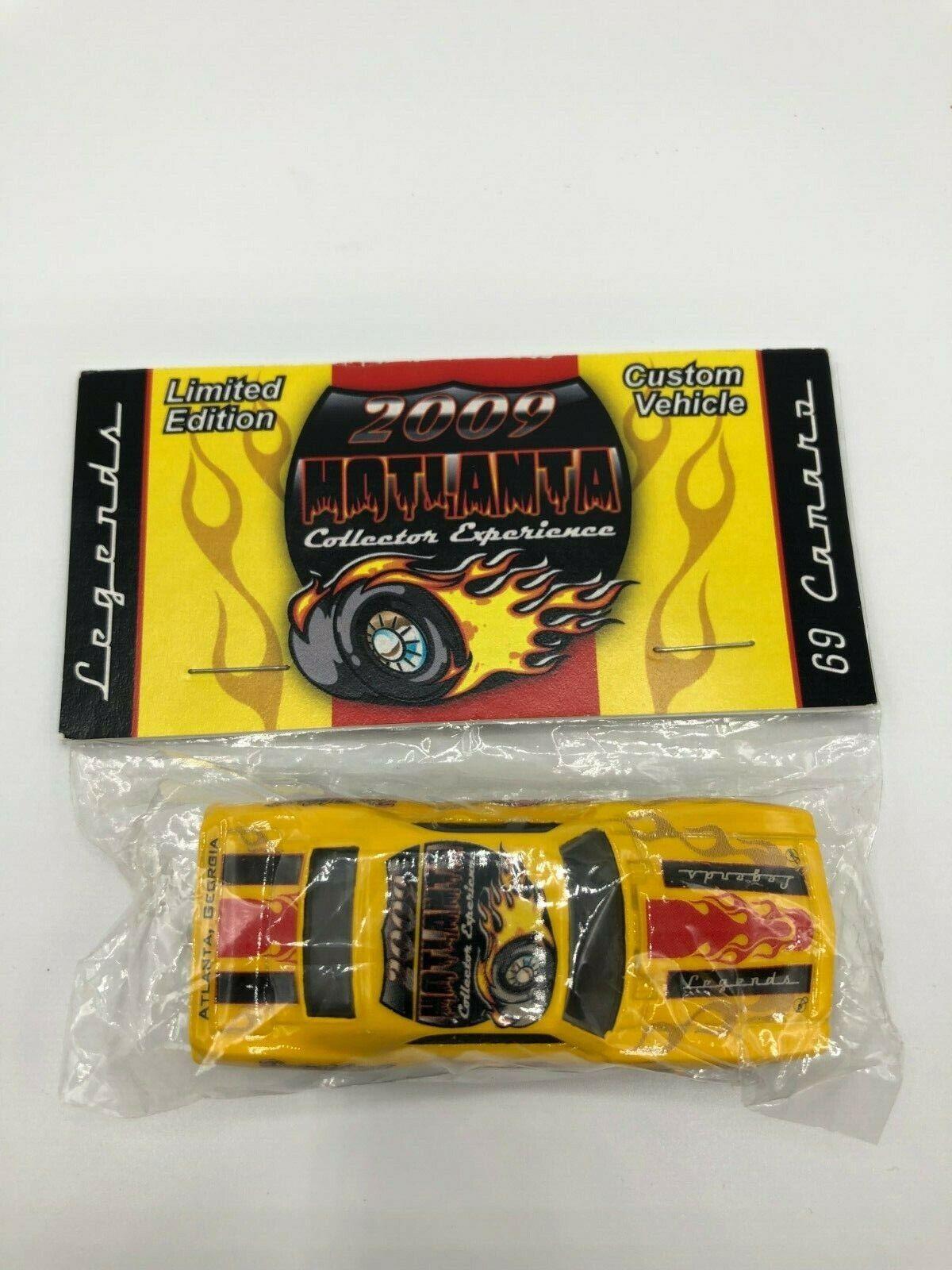 Hot Wtalons 2009 Legends Atlanta très  rare 1 de 100 JAUNE 69 Camaro pape Design  la meilleure offre de magasin en ligne