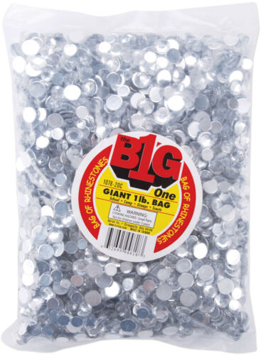 Big Bag Of Rhinestones Round Crystal