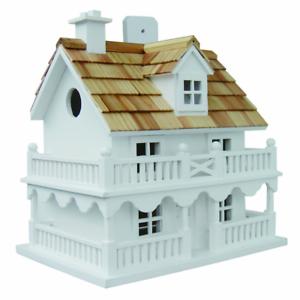 Image Is Loading Handmade Novelty Cottage Bird House Outdoor Big