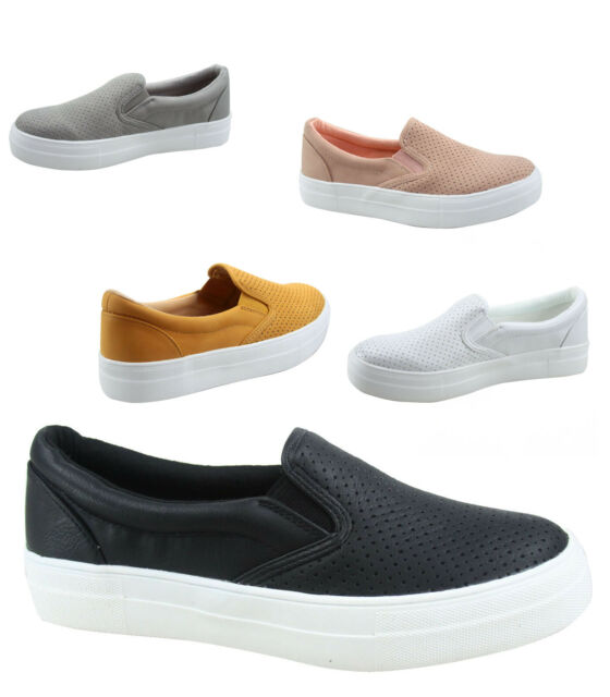 Fashion Sneaker Rubber Flat