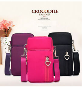 Women-039-s-Lovely-Mini-Cross-Body-Cell-Phone-Shoulder-Strap-Wallet-Pouch-Bag-Purse
