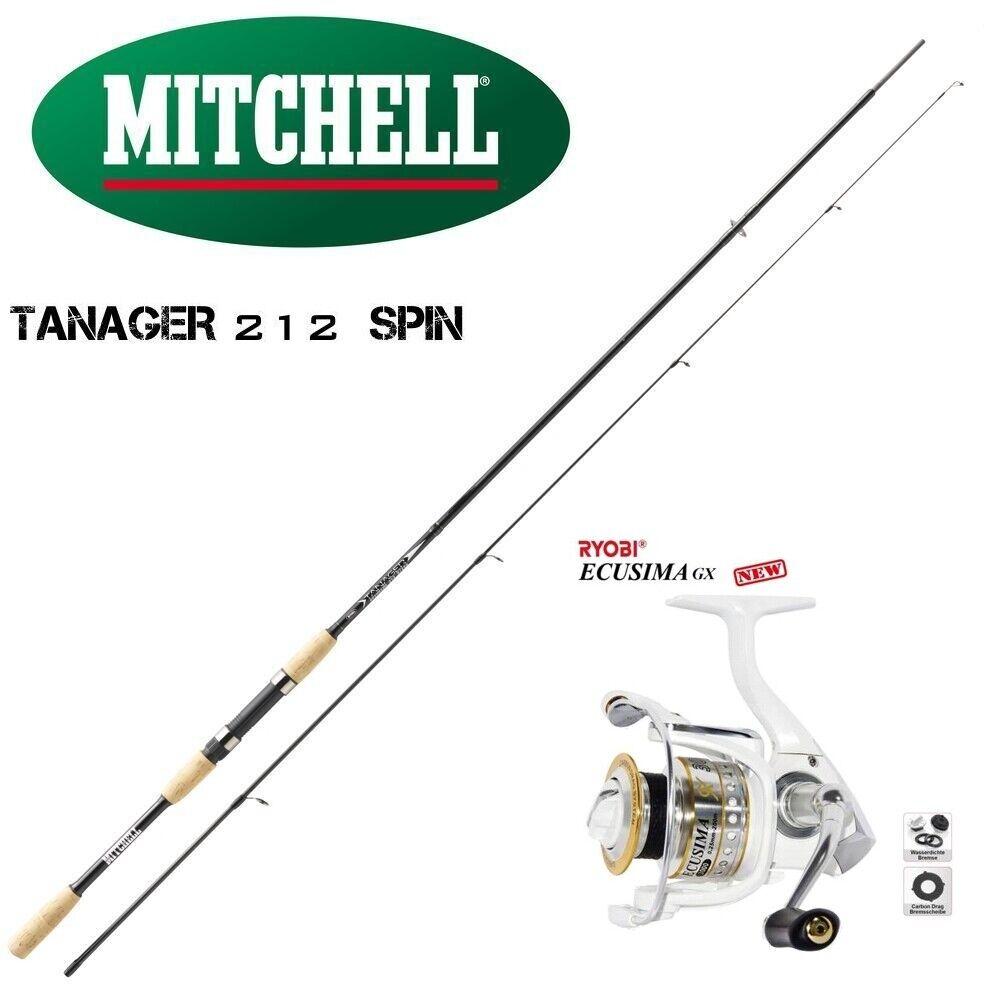 Mitchell Tanager 212  Ryobi Ecusima GX 2000 modellololo 2019