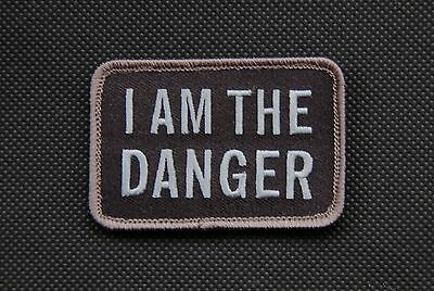 SWAT I Am The Danger Morale Patch Breaking Bad Walter White Hook Backing