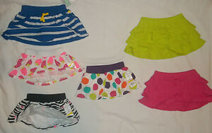NEW JUMPING BEANS/CARTERS BABY GIRLS SIZE 3 6 9 12 18 24 MONTHS SCOOTER SKIRT