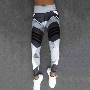 92c56c07ecd55 Details about Women Girls Athletic Gym Yoga Active Wear Ladies Running Pants  Trousers Leggings