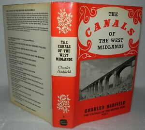 The-Canals-Of-The-West-Midlands-Charles-Hadfield-HB-DJ-1985-3rd-Edition