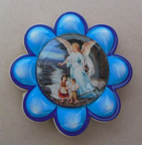 Autoplakette Schutzengel zum Ankleben Farbe: dunkelblau, Geschenk, Auto AR 143