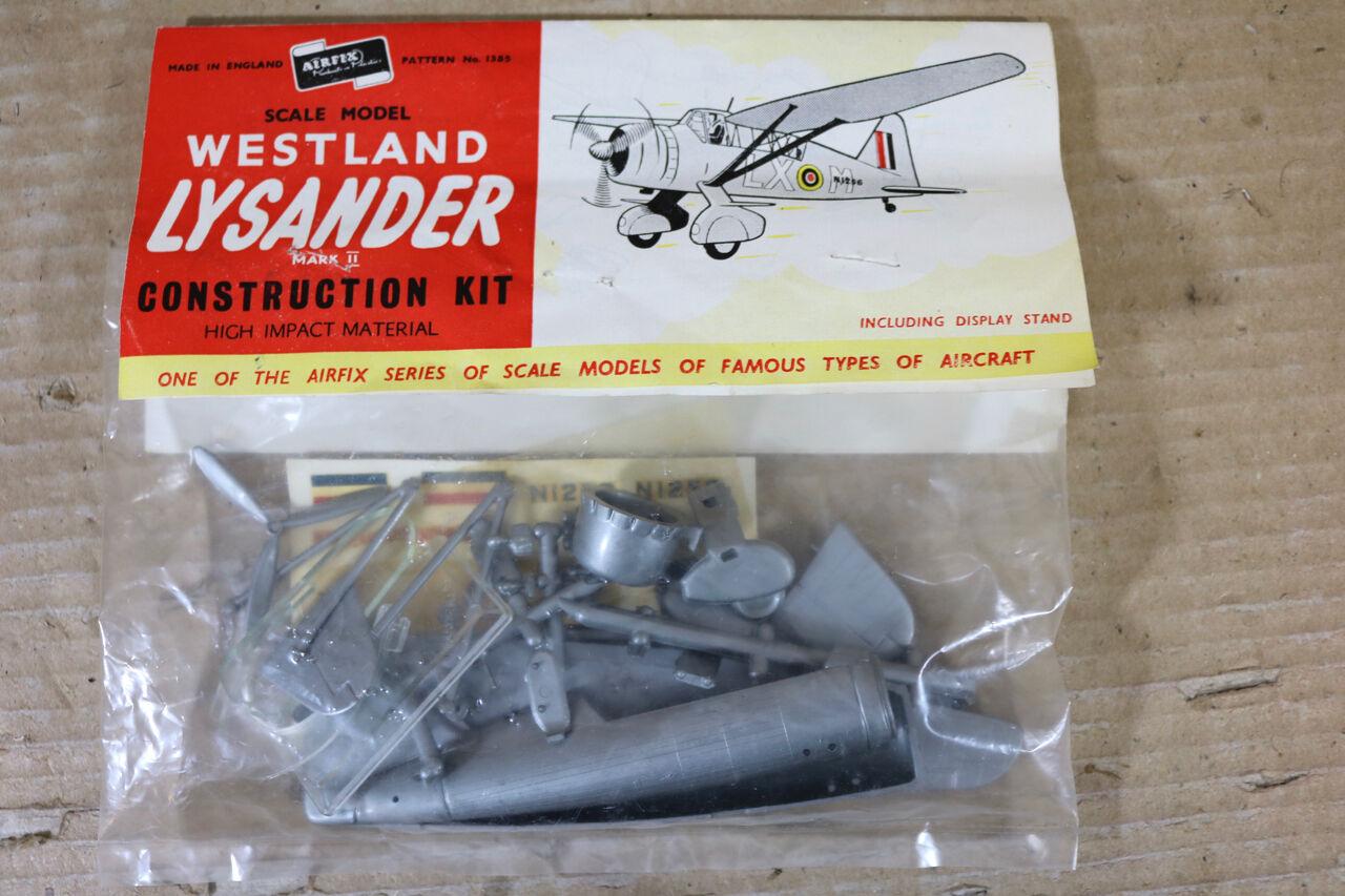 Airfix 1385 Mitte 1950s Jahre Westland Lysander Mark II 1 72 Maßstab Modell    Angemessene Lieferung und pünktliche Lieferung