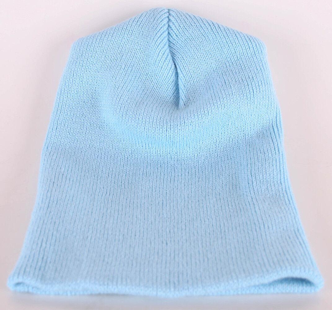 Decky Strickmütze Wintermütze Beanie Blau-hellblau OneSize Mütze