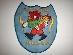 3rd-Pistola-Platoon-195th-Assault-Helicoptero-Co-Trueno-Pollos-Vietnam-War-Patch