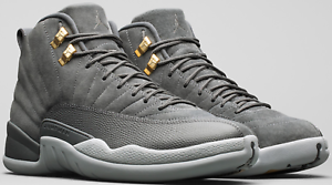 best loved 9017c 0391e Image is loading Nike-Air-Jordan-Retro-12-XII-Dark-Grey-