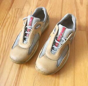 806a3d200 Détails sur PRADA chaussures basquettes femme 37,5