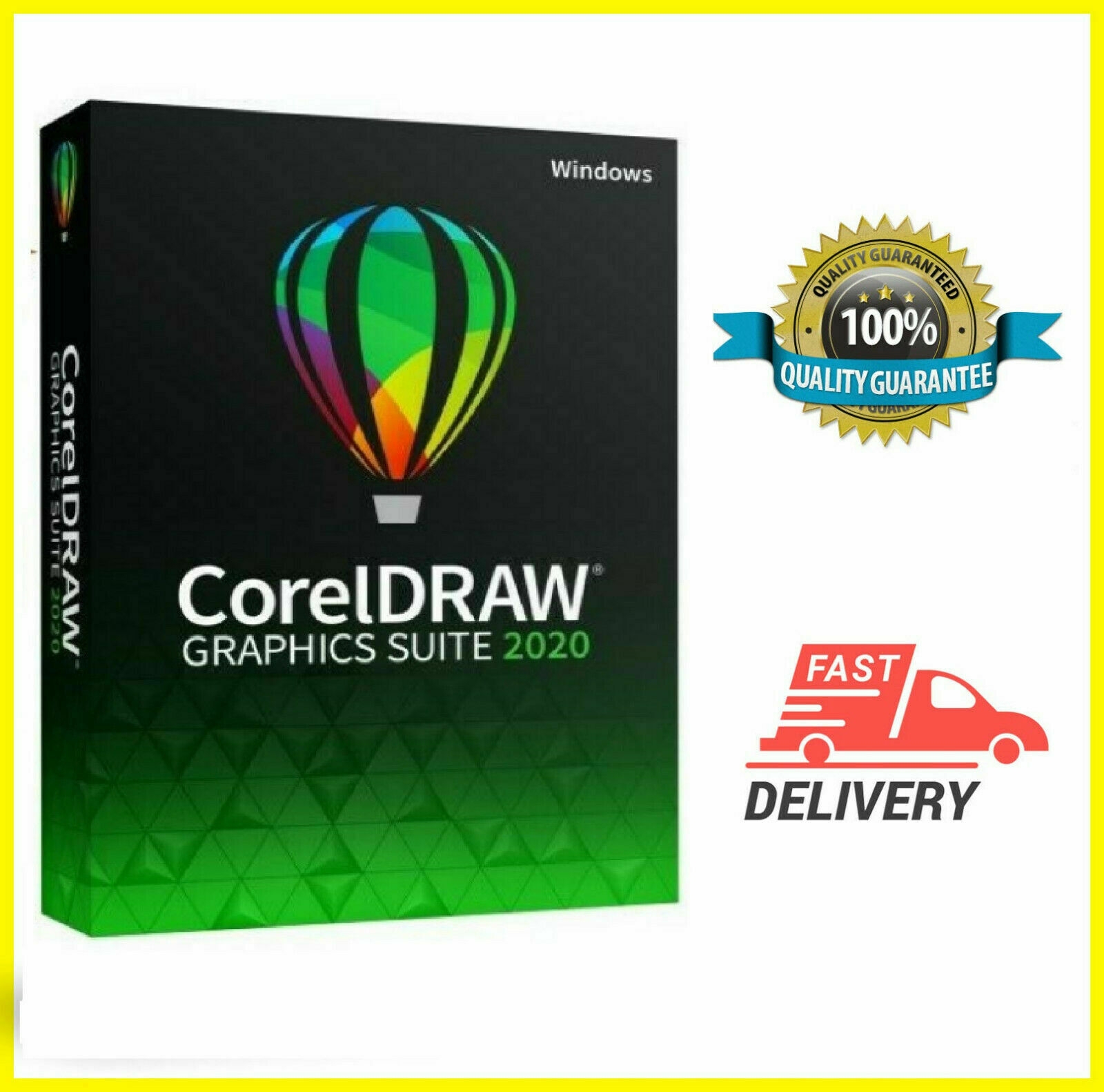 Corel draw graphics suite 2020  Full Version Fast Delivery Multilingual 4