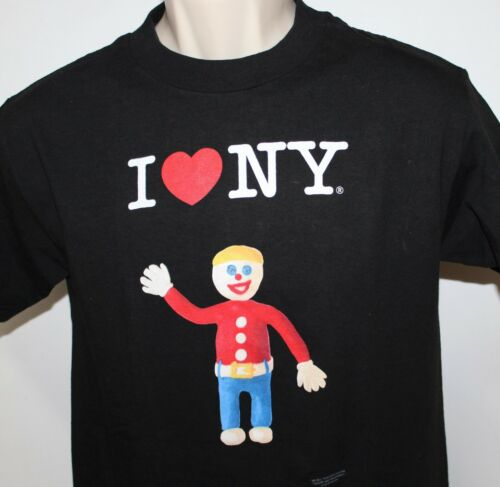"Mr Bill ""I love NY"" Men's Small Black T Shirt-2010"