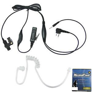 3.5mm Listen Only Earpiece for Motorola CP200 MaximalPower™ Palm Speaker Mic