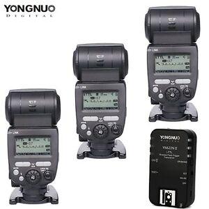 YONGNUO TTL YN685 Flash Speedlite + YN622N-TX Flash controller For Nikon Camera