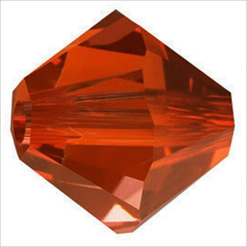 Lot de 40 perles Toupies SWAROVSKI 4mm Crystal Red Magma