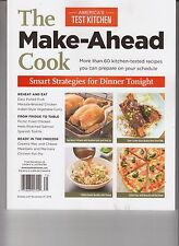 COOK'S ILLUSTRATED THE MAKE - AHEAD COOK FROM AMERICA'S TEST KITCHEN 2016