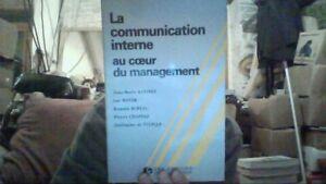 La-Communication-interne-au-coeur-du-management-de-Auvinet-Livre-d-039-occasion
