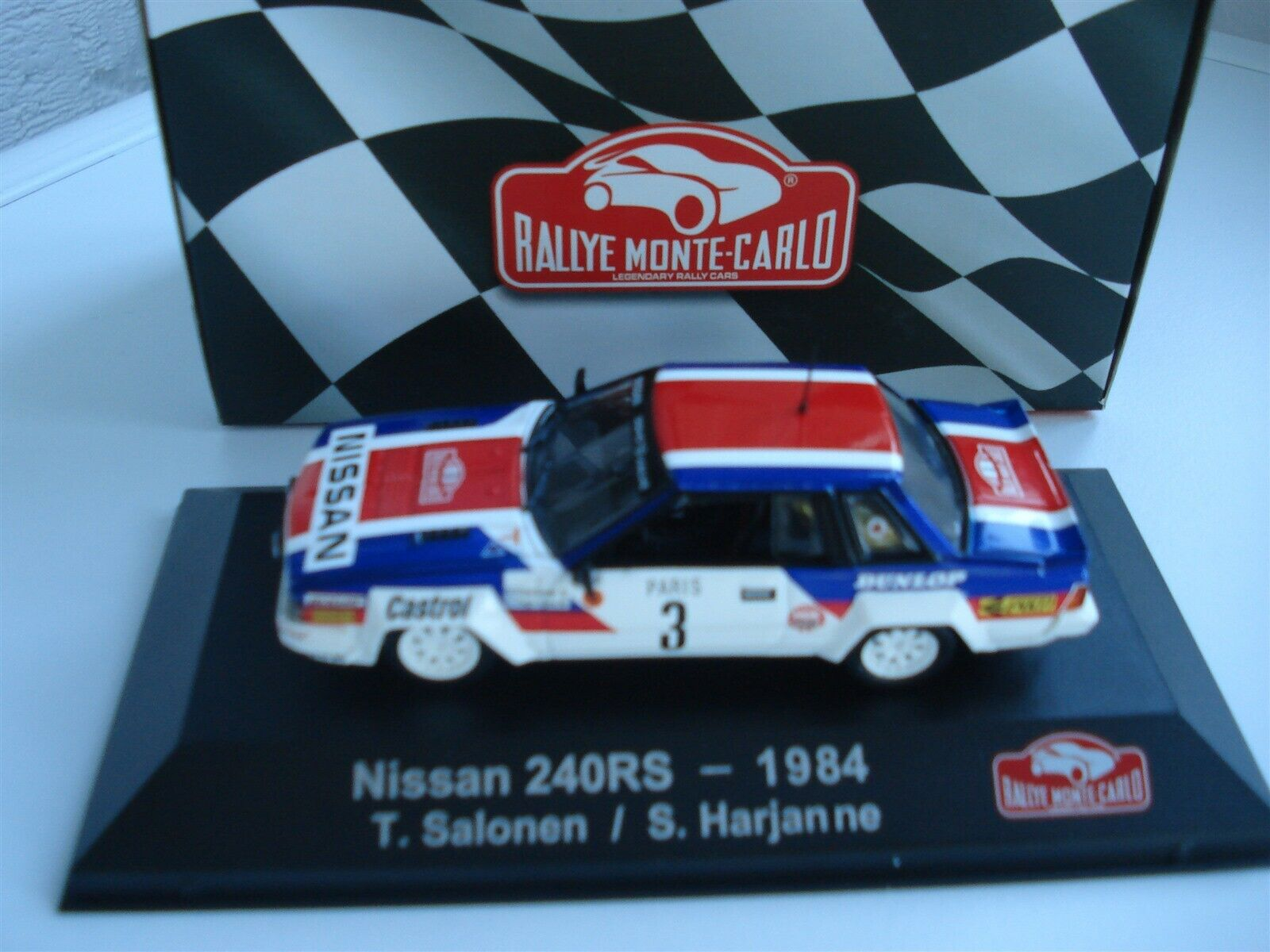 nuevo listado Nissan Nissan Nissan 240RS-Rallye Monte Cochelo - 1 43 - Atlas-como Nuevo en Caja - 1984-Salonen  grandes ofertas