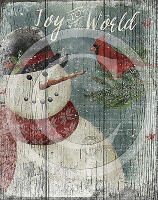Primitive Grungy MR DRIFT Snowman Christmas//Winter Farmhouse