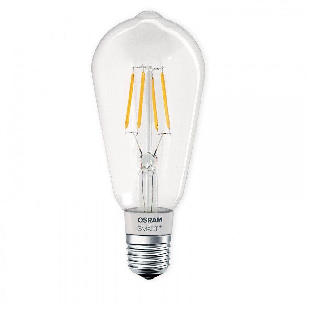 OSRAM SMART+ LED E27 Lampe Filament Edison 5,5W 2700K dimmbar Apple HomeKit Siri