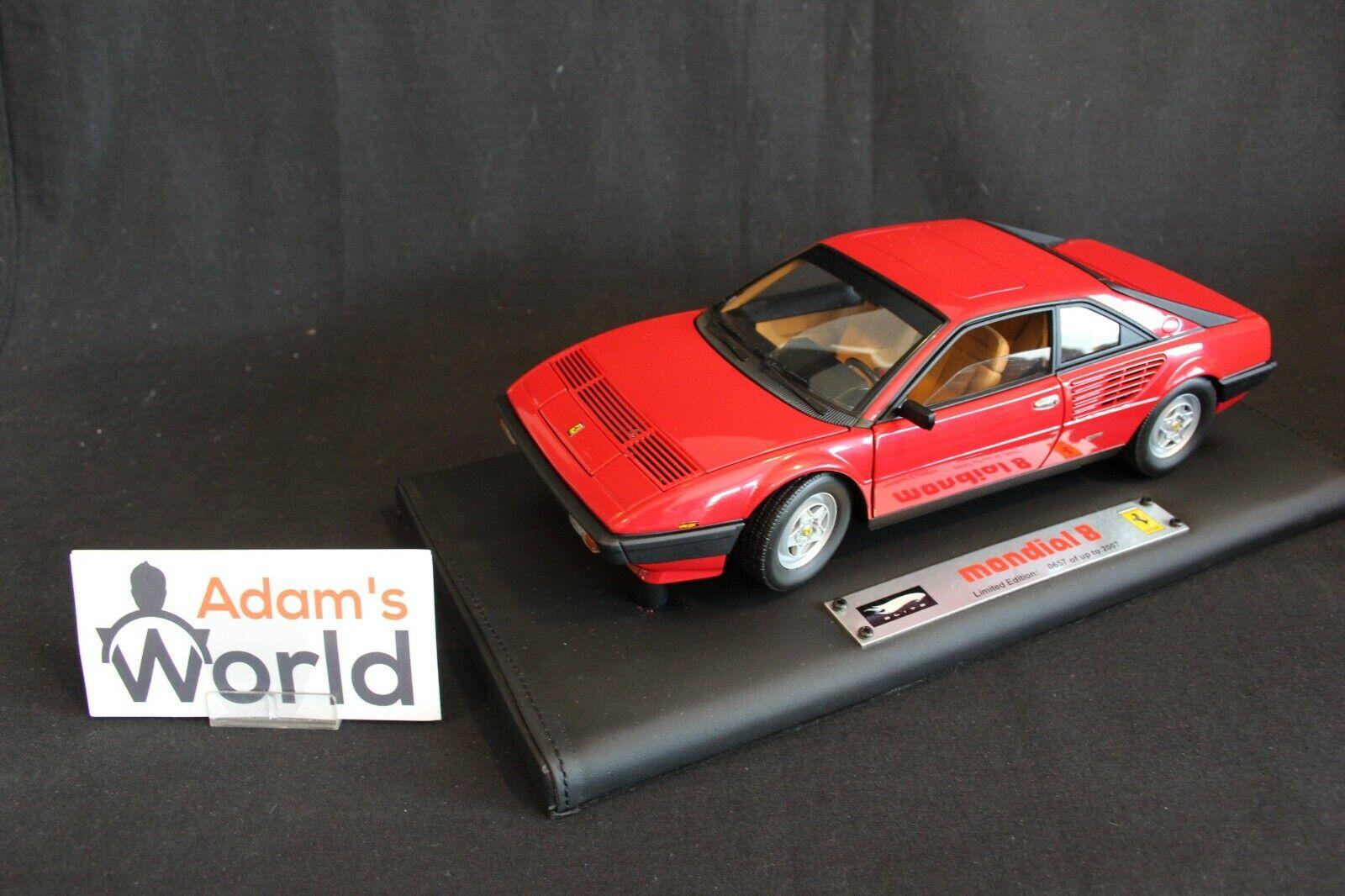 Hot Wheels Super Elite Ferrari Mondial 8 1 18 red (PJBB)