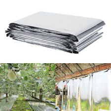 1pc 130 210cm Garden Wall Film Covering Sheet Hydroponic Highly Reflective