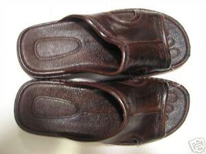 Pali Hawaii Sandals MEN'S  PH186 SIZE 12 BROWN