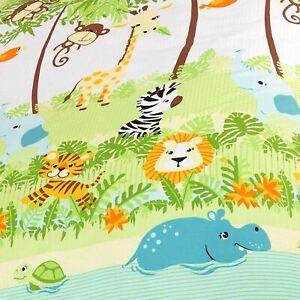 Jungle-Boogie-Doublure-Rideaux-66-034-X-72-034-avec-Embrasses-Animaux-Elephant