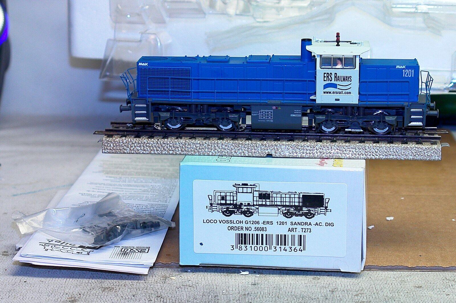 MEHANO VOSSLOH G1206 ERS RAILWAYS 1201 SANDRA AC DIGITAL MARKLIN DB NS SNCB