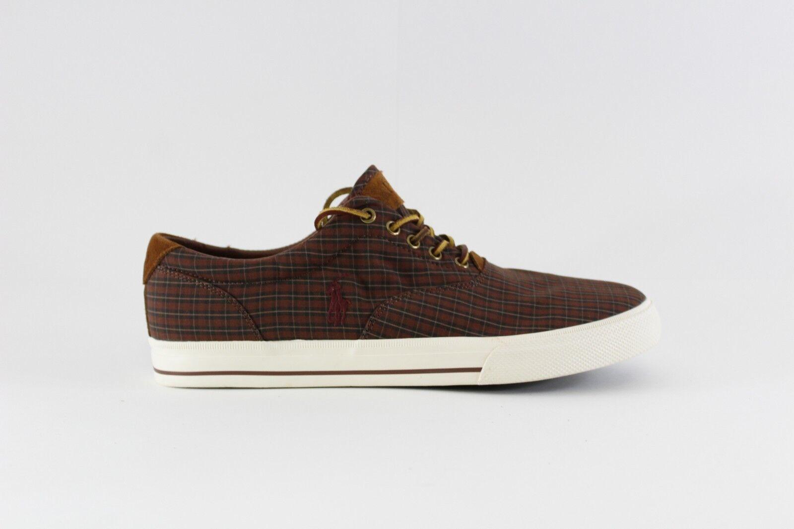 Polo Ralph Lauren vaughn Men US 13 Brown Sneakers