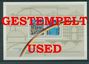 Germany-Federal-Frg-vintage-yearset-1990-Block-22-Postmarked-Used-More-Sh-Shop