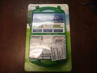 Panasonic Eneloop Rechargeable Batteries & Charger 917976 C D Aaa Aa Adapters