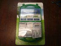 Panasonic Eneloop Rechargeable Batteries & Charger 917976 C D Aaa Aa Adapters