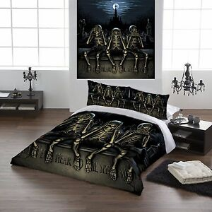 Hear No Evil Duvet Cover Set For Double Bed Artwork By Paul Mudie