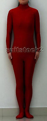 New Lycra Spandex Zentai costume Bodysuit Catsuit Unitard No Hood & Hands