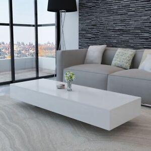 vidaXL-Table-basse-table-de-salon-Table-de-bureau-Haute-brillance-Blanc